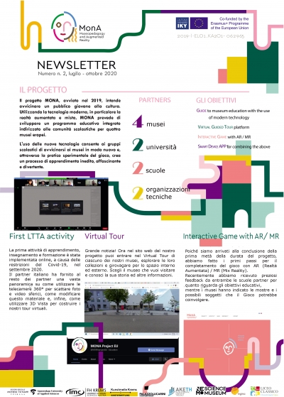 NEWSLETTER issue no2, July 2020 - October 2020